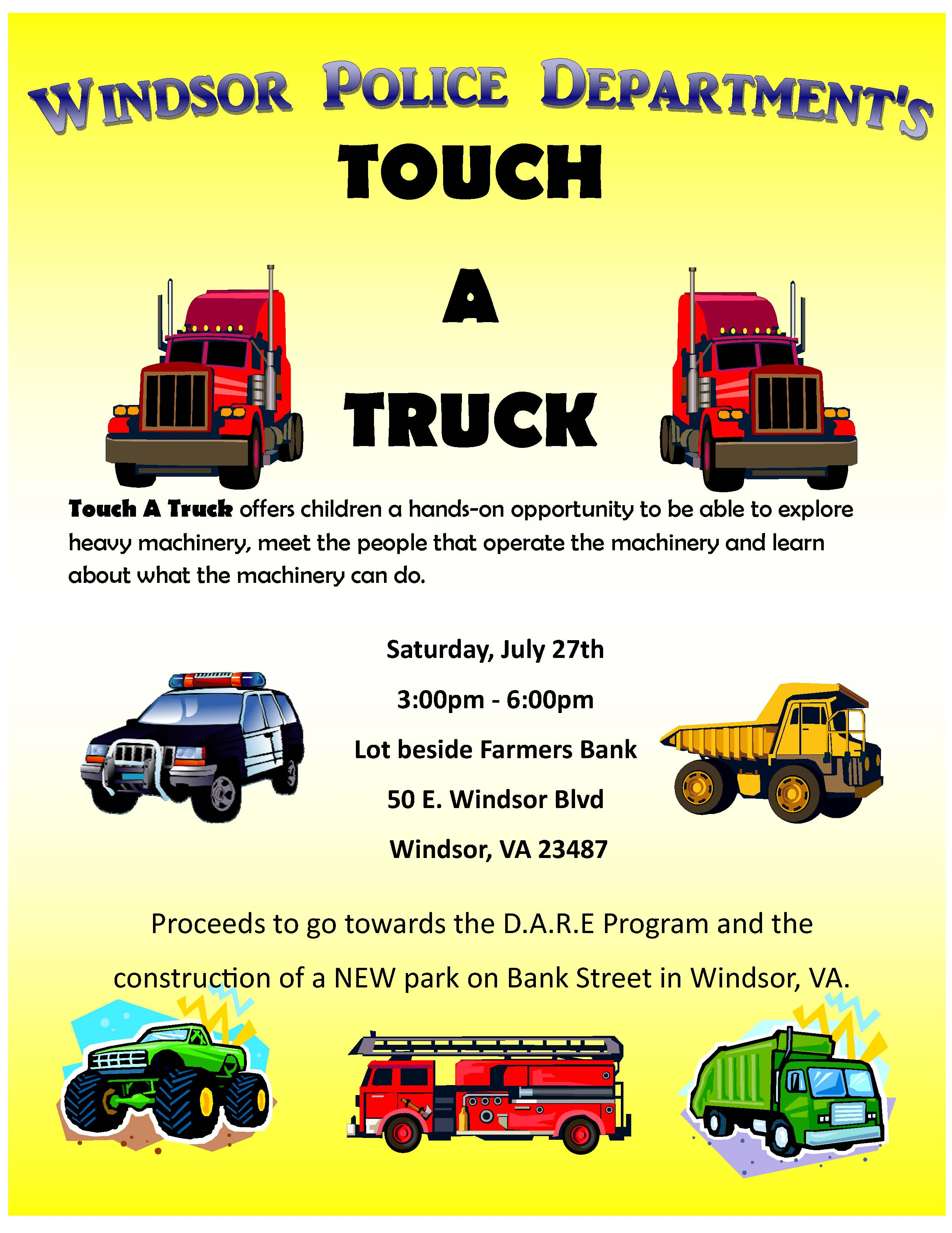 Touch a Truck | Events Calendar | Official Website for the ...