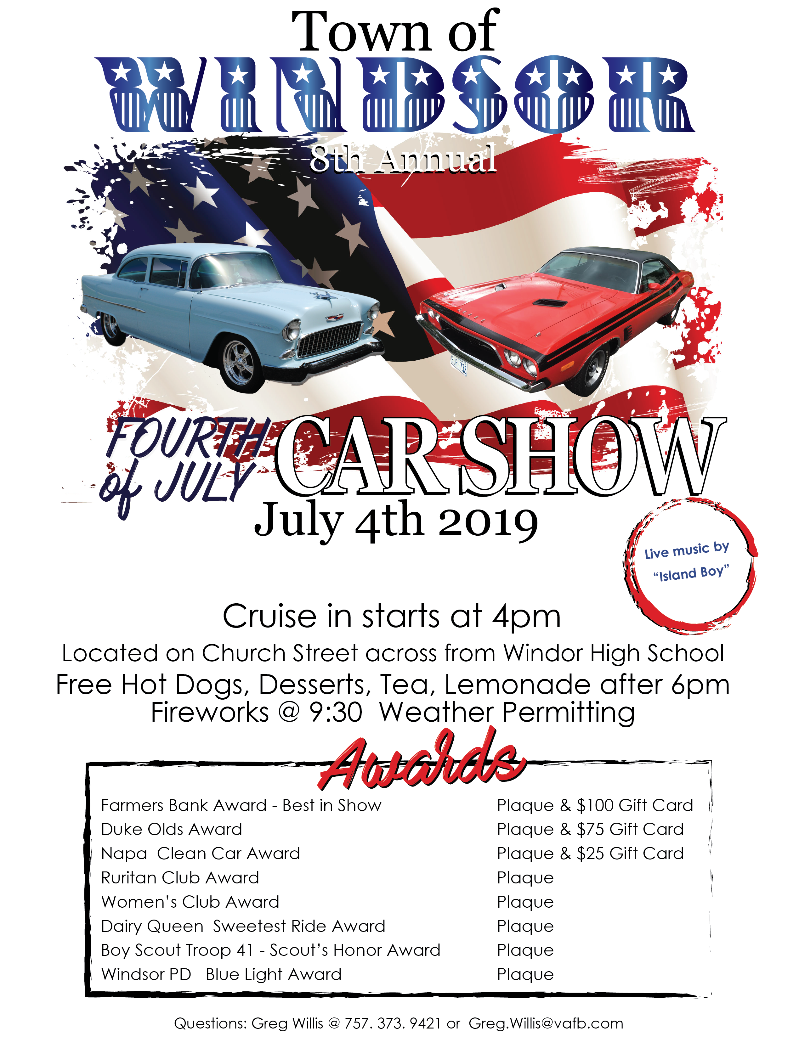 July 4th Car Show | News | News | Official Website for the
