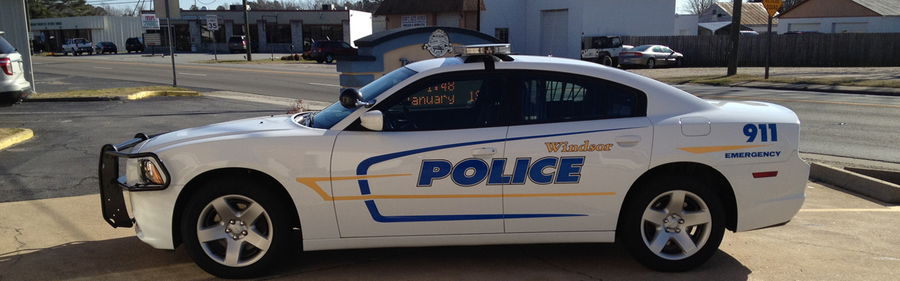 Windsor Police Cruiser
